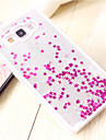 Case For Samsung Galaxy Samsung Galaxy Case Flowing Liquid Back Cover Glitter Shine PC for A7 A5