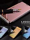 Para Samsung Galaxy Capinhas Hibernacao/Ligar Automatico / Espelho / Flip Capinha Corpo Inteiro Capinha Cor Unica PC Samsung S5