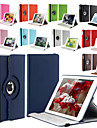 360 Degree Rotating Stand PU Leather Auto Sleep and Wake Up Case Cover for iPad Air