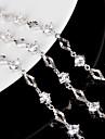 Women\'s Chain Bracelet Charm Bracelet Sterling Silver Jewelry Wedding Party Daily Casual Costume Jewelry White