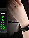 SKMEI® Women's Slim Design LED Digital Silicone Strap Watch Cool Watches Unique Watches Fashion Watch