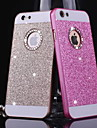 grand d bling metallique motif couverture arriere pour iPhone 4 / 4S