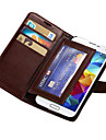 Durable PU Leather Wallet Case for Samsung Galaxy S5 I9600