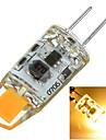 100-200 lm G4 Двухштырьковые LED лампы Утапливаемое крепление 1 светодиоды COB Декоративная Тёплый белый Холодный белый AC 12V