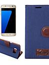 For Samsung Galaxy S8 Plus S7 Edge S6 Edge Plus Case Cover Denim Mobile Phone Holster for S5 Mini S4 Mini Active S3