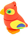 zpk36 16gb птица USB-накопитель 2.0 флэш-красный Сова мультфильм U придерживаться