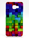 For Samsung Galaxy Case Pattern Case Back Cover Case Geometric Pattern TPU Samsung A7(2016) / A5(2016) / A3(2016)