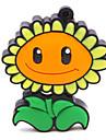 zpk47 unidade de memoria flor 16gb usb girassol 2.0 Flash u vara