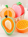 Fruit Shaped Cleaning Sponge(Random Color)