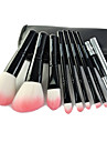 9pcs Professional Makeup Brushes Makeup Brush Set Artificial Fibre Brush / Synthetic Hair Portable / Travel / Professional Wood Eye / 2 *