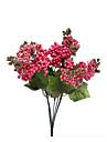 زهور اصطناعية 1 فرع أسلوب بسيط نباتات ورادت ناعمة أزهار الطاولة