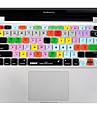 XSKN Cut Pro 7 silicone pele tampa do teclado definitivo laptop para MacBook Air de 13 polegadas, o MacBook Pro 13 15 17 polegadas, nos