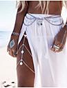 שרשרת בטן / שרשרת גוף / בטן שרשרת נשים, עיצוב מיוחד, ארופאי, אופנתי בגדי ריקוד נשים כסף / מוזהב תכשיטי גוף עבור חתונה / קזו\'אל / חוף