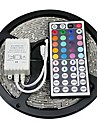 5m RGB Strip Lights 300 LEDs 5050 SMD RGB Remote Control / RC / Cuttable / Self-adhesive 12 V / Color-Changing