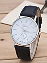 Муж. Спортивные часы Нарядные часы Модные часы Наручные часы Кварцевый Крупный циферблат Натуральная кожа Группа С подвесками Разноцветный