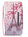 Coque Pour Samsung Galaxy Samsung Galaxy S7 Edge Porte Carte Portefeuille Avec Support Clapet Motif Coque Integrale Tour Eiffel faux cuir