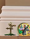 Adesivo de Parede-Cores Aleatórias- dePlástico-Natal / Halloween / Novidade / Desenhos Animados