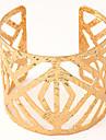 Femme Manchettes Bracelets Mode Ajustable Ouvert Europeen bijoux de fantaisie Alliage Bijoux Pour Soiree Quotidien Decontracte