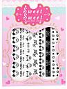 Стикер искусства ногтя макияж Косметические Ногтевой дизайн