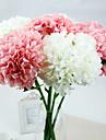زهور اصطناعية 1 فرع الطراز الأوروبي أرطنسية أزهار الطاولة
