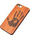 Для Кейс для iPhone 5 Чехлы панели С узором Задняя крышка Кейс для Мультипликация Твердый Дерево для Apple iPhone SE/5s iPhone 5