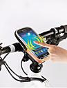 ROSWHEEL 자전거 핸들바 백 휴대 전화 가방 5.5 인치 방수 지퍼 착용 가능한 방습 충격방지 터치 스크린 싸이클링 용 Samsung Galaxy S6 LG G3 iPhone 5/5S 아이폰 엑스 Samsung Galaxy S4