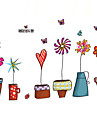 Decorative Wall Stickers - Plane Wall Stickers Animals / Still Life / Fashion Living Room / Bedroom / Bathroom / Removable