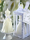The Bride Candles Christmas Crafts Wedding Decoration Candle 4x4x7cm