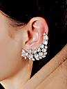 Lady\'s Alloy Rhinestone Ear Jewelry Earcuffs for Lady Party Casual