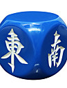 Royal San Resin Materials, Environmental Protection And Durable Mahjong Wind Direction 30 Mm Dice Match Regular White
