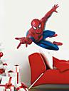 Superhero Spider-Man Wall Stickers Cartoon Children\'s Room Bedroom Wall Art PVC Wall Decals
