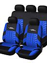 Universal sopii autoon, SUV, tai van polyesteri auton istuimen kansi täyttä koko istuimen kansi asetettu (9 kpl) sininen