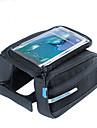 ROSWHEEL® Bike Bag 1.5LBike Frame Bag Waterproof Zipper / Moistureproof / Shockproof / Wearable Bicycle Bag PU Leather / 400D NylonCycle