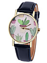 Women\'s Quartz Wrist Watch Casual Watch Leather Band Elegant Fashion Black White Brown Green Pink