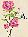 동물 정물 패션 꽃 Leisure 보타니칼 벽 스티커 플레인 월스티커 데코레이티브 월 스티커, 비닐 홈 장식 벽 데칼 벽