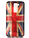 The New British Flag Painted Patterns TPU Soft Case Phone Case For LG K4/K8