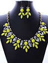 MPL Europe and the United States selling fashionable exaggerated Necklace Earrings Set