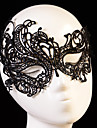 Crystal Lace Fabric Tiaras Masks 1 Wedding Special Occasion Party / Evening Headpiece