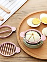 Plastique Creative Kitchen Gadget Pour Egg Cutter & Slicer