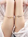 Femme Bracelets Rigides - Mode, Ouvert Bracelet Argent / Dore Pour Soiree Quotidien Decontracte