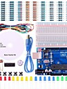 UNO Project Basic Starter Kit with Tutorial and UNO R3 for Arduino