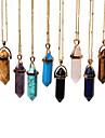 Agate Pendentif de collier / Collier - Mode Chameau, Bleu marine, Bleu clair Colliers Tendance Pour Soiree, Quotidien, Decontracte