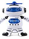 Робот LED освещение Игрушки Музыка пение Танцы Прогулки Поворот на 360° Многофункциональный ABS Девочки Мальчики 1 Куски