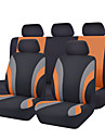 CARPASS כיסויי למושבים לרכב כיסויים אפור / אדום / כחול טֶקסטִיל נפוץ עבור אוניברסלי