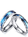 "2016 Fashioin ""Forever Love"" Stainless Steel Wedding Special Couples  Ring  For Women&Man"