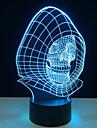 lampada de luz cranio novidade 3d luzes led decoracao com lampada usb poder como dia das bruxas feriados presentes