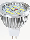 gu5.3 (mr16) a mene le projecteur mr16 15 smd 5730 650lm blanc chaud froid blanc 2700-6500k decoratif dc 12v