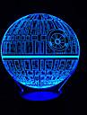 터치 디 밍 3d led 밤 빛 7colorful 장식 분위기 램프 참신 조명 빛