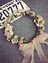 корейская красивая роза цветок венки оголовье для леди свадьба партии ювелирные изделия праздник волос