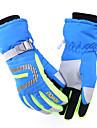Перчатки для велосипедистов Лыжные перчатки Муж. Жен. Сохраняет тепло Водонепроницаемость С защитой от ветра Катание на лыжах